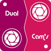 Dual Camera Sweet Selfie Filters: DSLR Beauty Cam icon