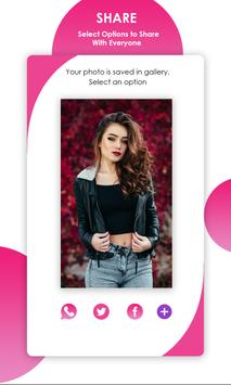Dual Camera Sweet Selfie Filters: DSLR Beauty Cam screenshot 3