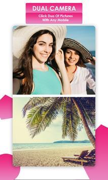Dual Camera Sweet Selfie Filters: DSLR Beauty Cam screenshot 14