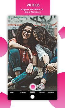 Dual Camera Sweet Selfie Filters: DSLR Beauty Cam screenshot 18