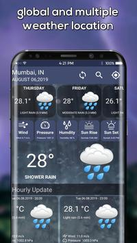 The Weather Radar, Live Weather Radar Map & Widget screenshot 2