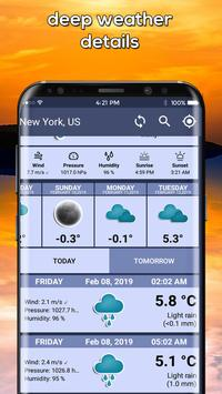 The Weather Radar, Live Weather Radar Map & Widget screenshot 6
