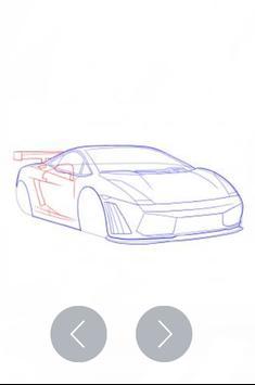 How To Draw Cars screenshot 10