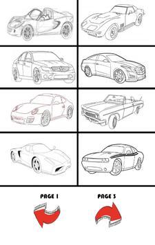 How To Draw Cars screenshot 13