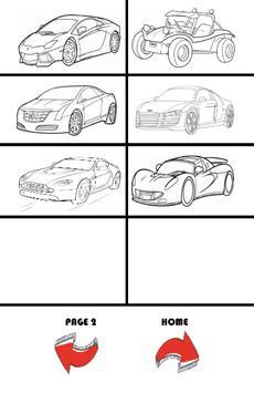How To Draw Cars screenshot 8