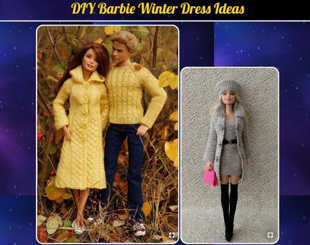 DIY Barbie Winter Dress Ideas poster