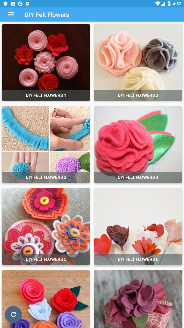 Diy Felt Flowers For Android Apk Download