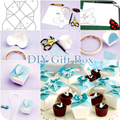 DIY Gift Box Step by Step icon