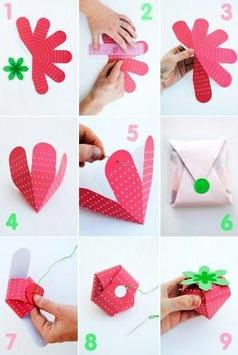 DIY Gift Box Step by Step poster