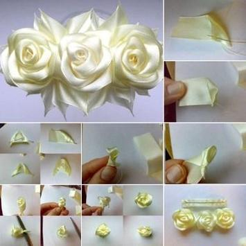 DIY Ribbon Crafts Tutorial screenshot 6