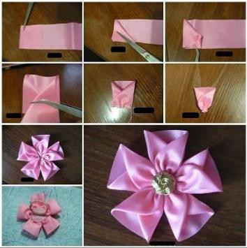 DIY Ribbon Crafts Tutorial screenshot 9