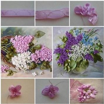 DIY Ribbon Crafts Tutorial screenshot 10