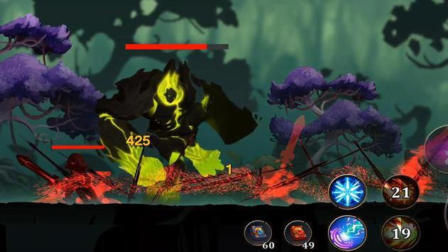 Legendary Warriors: Dark War تصوير الشاشة 2
