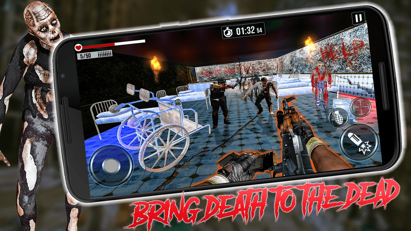 Into The Zombie Dead Land: Zombie Shooting Games poster