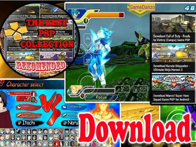 Download game naruto ppsspp android iso