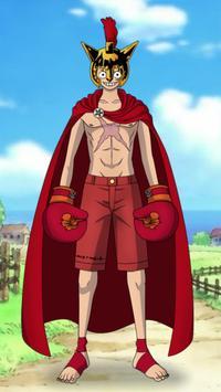 Monkey D. Luffy Dress Up screenshot 2