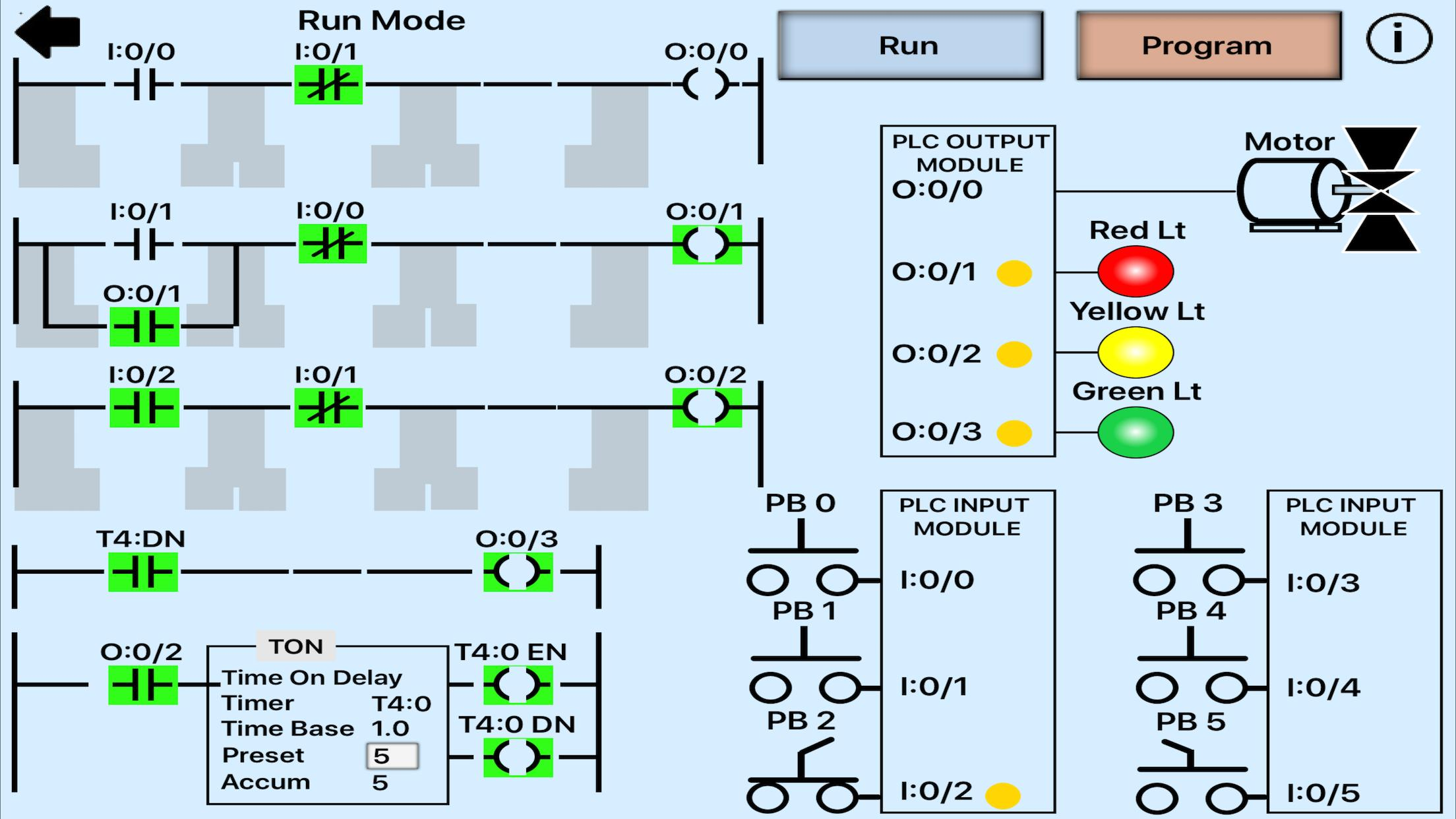 Plc Simulator Mechatronics Plc Ladder Logic Plc For Android Apk Download