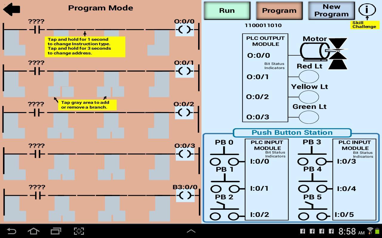 Plc Simulator Mechatronics Plc Ladder Logic Plc For Android Apk Download