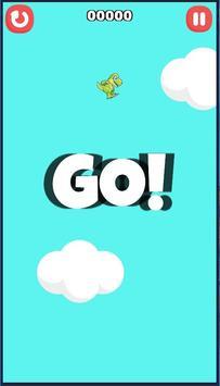 Falling Dino Free poster