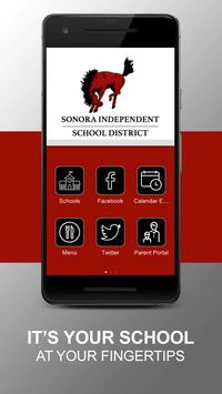 Sonora ISD poster
