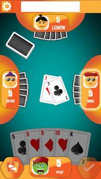 Crazy Eights - emoji card game poster