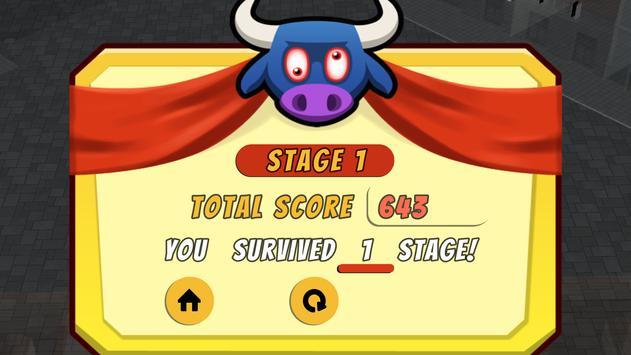 Bull Dodgers - Free Bull Running Game screenshot 3