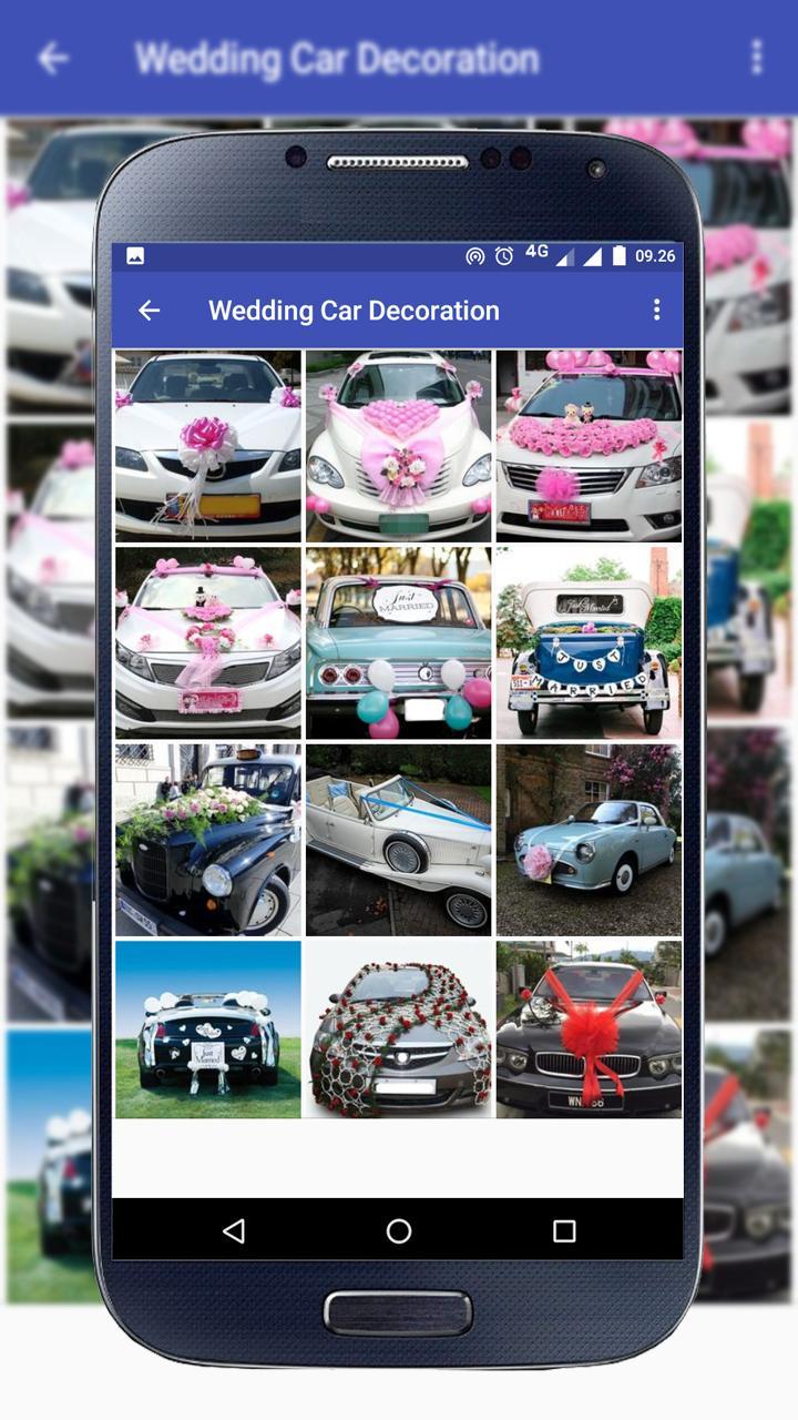 Verwonderend Bruiloft auto decoratie for Android - APK Download SN-73