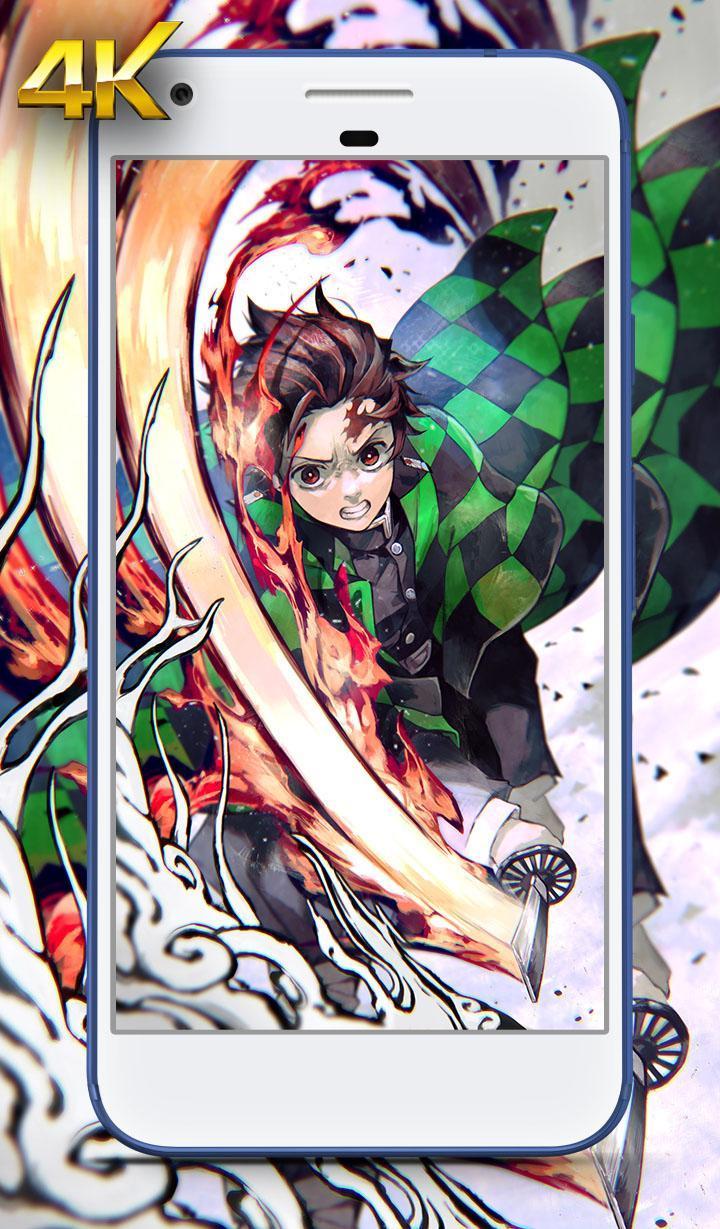 Hd Wallpaper Of Kimetsu No Yaiba Demon Slayer For Android
