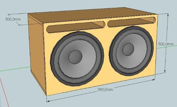 Full Bass Speaker Box Design poster
