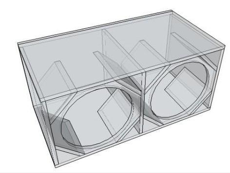 Full Bass Speaker Box Design screenshot 2