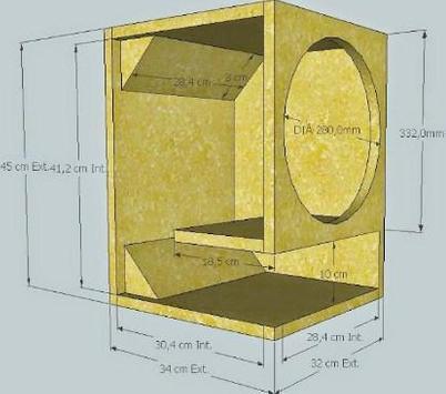 Full Bass Speaker Box Design screenshot 3