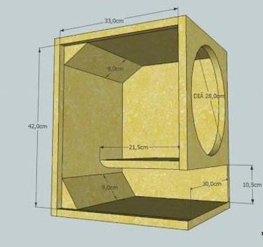 Full Bass Speaker Box Design screenshot 4