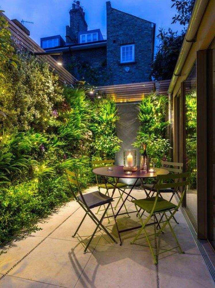 hermosos diseños de patio con jardín Hermoso Diseo Del Jardn Del Patio Trasero For Android