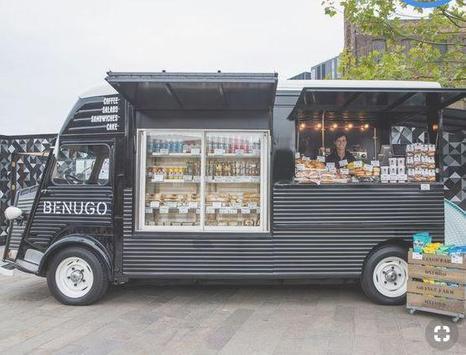 Food Truck Design poster