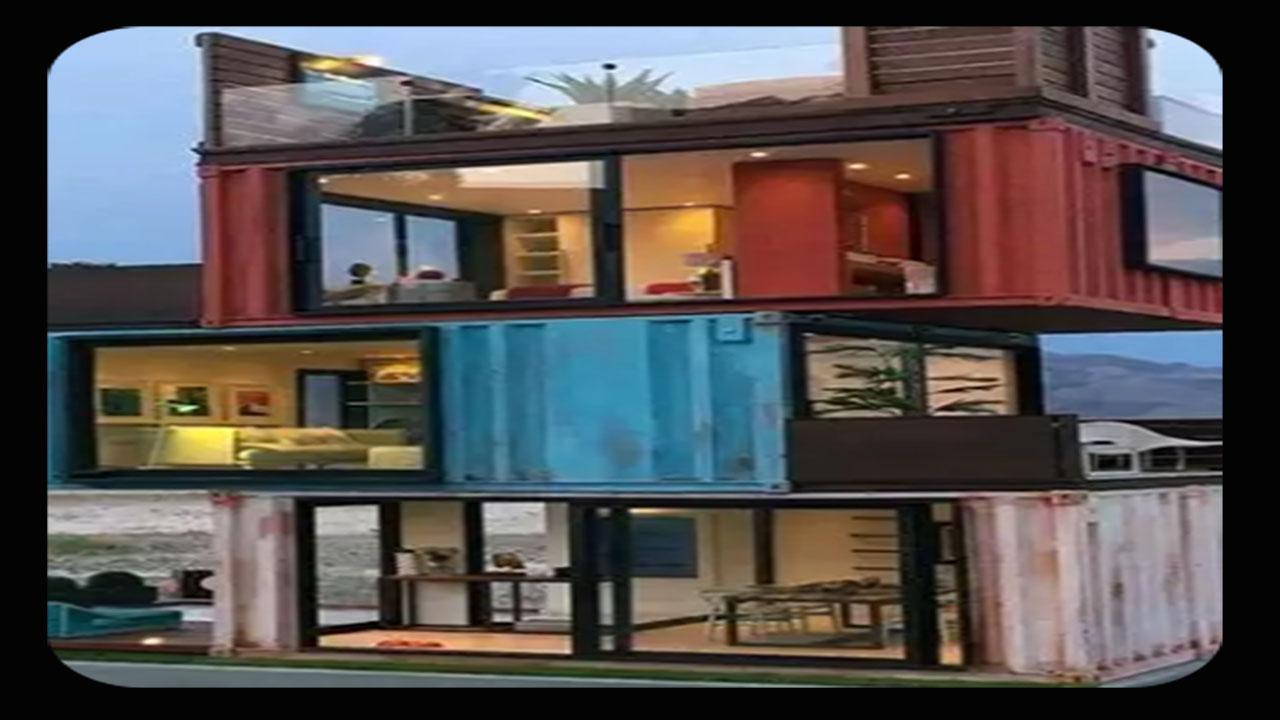 Conception d\'une maison de conteneur moderne pour Android ...