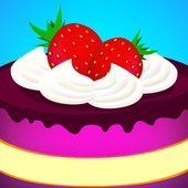 dessert cooking game icon