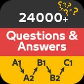 Deutsch lernen mit Quiz: German Language & Grammar icon