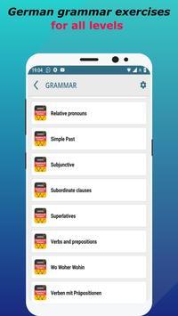 Deutsch lernen mit Quiz: German Language & Grammar screenshot 2