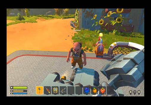 Hints for Scrap the Mechanic Survival - Game Craft screenshot 1