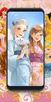 Disney princess 4K wallpapers poster