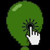 Burst balloon icon