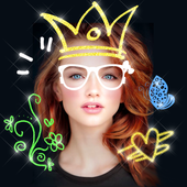 Doodle Photo Editor 😜 Stickers for Pictures icon