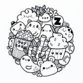 Doodle Art Simple icon
