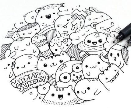 Doodle Art Simple screenshot 23