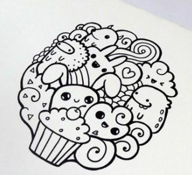 Doodle Art Simple screenshot 2