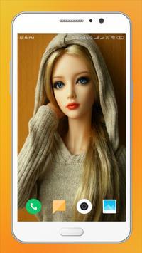 Cute Doll HD Wallpaper screenshot 3