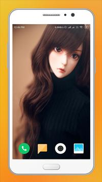 Cute Doll HD Wallpaper poster