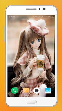 Cute Doll HD Wallpaper screenshot 10