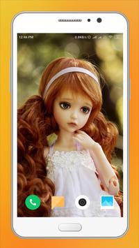 Cute Doll HD Wallpaper screenshot 5