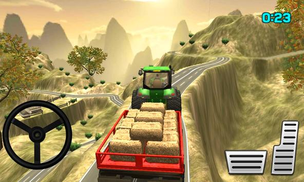 Tractor Trolley Cargo Farming Simulator 2019 Game screenshot 1